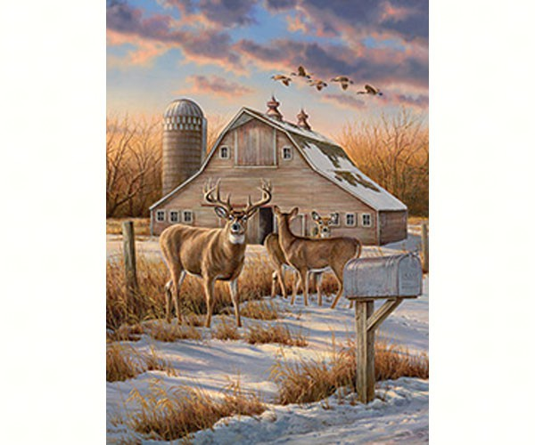 TheBYN has 1000 piece family jigsaw puzzles, including 'Rural Route'.