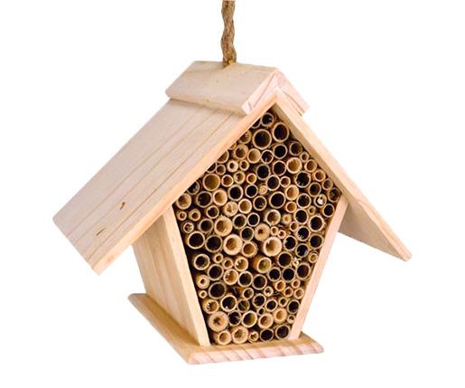 The Backyard Naturalist has Mason Bee Houses and Lodges, like this one: The A-Frame Mason Bee House
