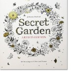 Secret Garden Artist's Edition Coloring Book for Grown Ups, New at The Backyard Naturalist.