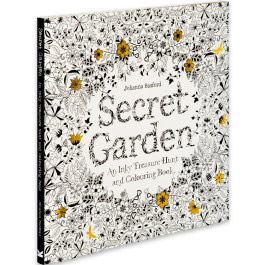 Secret Garden Coloring Book For Grown Ups New At The Backyard Naturalist
