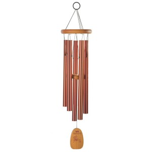 Woodstock Tibetan Prayer Wind Chimes at The Backyard Naturalist