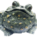 The Backyard Naturalist has Toad Hollow's garden statuary Toads, no two are alike.