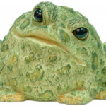The Backyard Naturalist has Toad Hollow's garden statuary Toads, your new best garden companions.