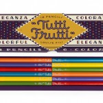 The Backyard Naturalist has Tutti Frutti pencil sets in stock now! Retro cool and very practical dual colored pencils.