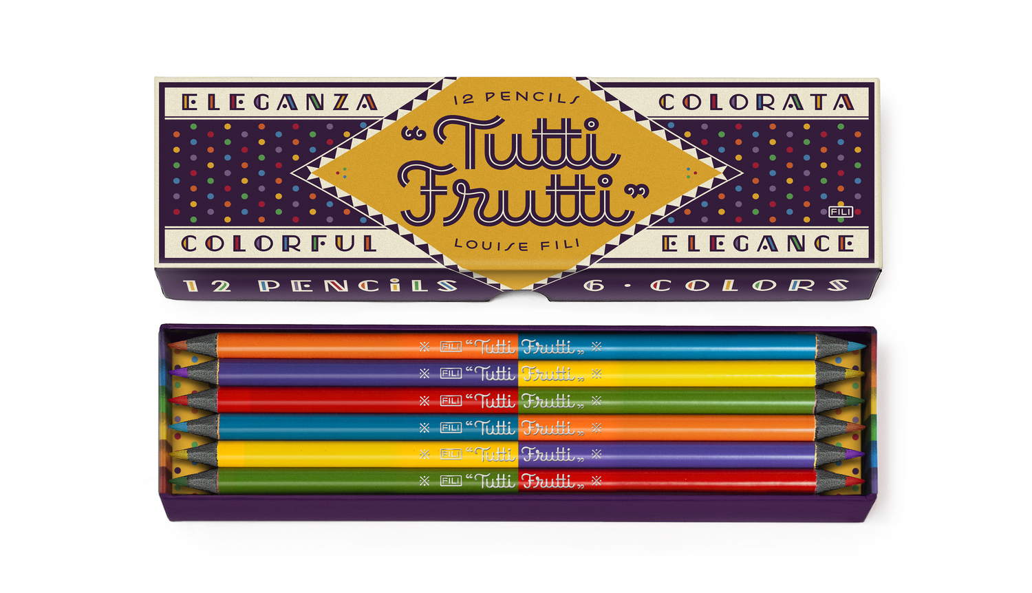 The Backyard Naturalist Has Tutti Frutti Pencil Sets In Stock Now Retro Cool And Very