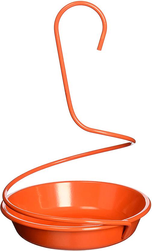 Spiral Hanger Metal Oriole Feeder