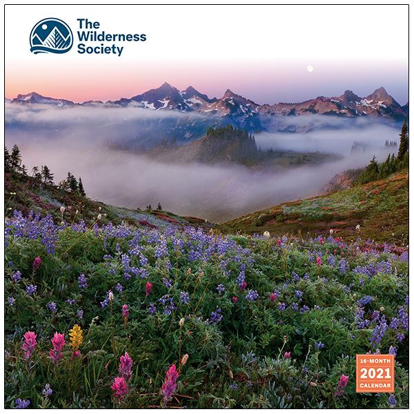 The Backyard Naturalist has the Wilderness Society's Wall Calendar 2021