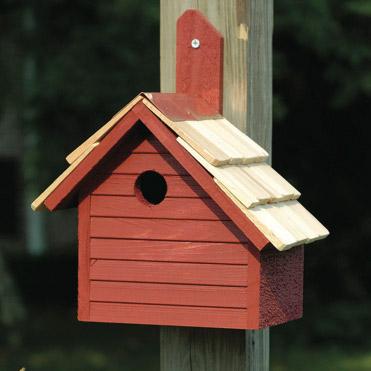 Wild bird houses the backyard naturalist for Types of birdhouses