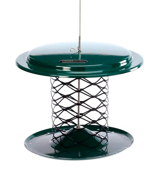 The Backyard Naturalist stocks Birds Choice Magnet Mesh Whole Peanut Feeder that is durable all-steel construction will attract Woodpeckers that perch or cling to mesh so they can peck peanuts out of the shells.