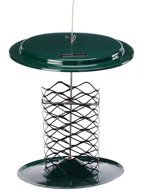 The Backyard Naturalist stocks Birds Choice Magnet Mesh Whole Peanut Feeder that has patented magnet mesh and is easy to clean and fill.