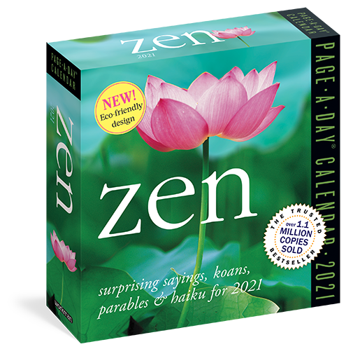 The Backyard Naturalist has Lang's 2021 Zen Page-a-Day Calendar 365 in stock now!