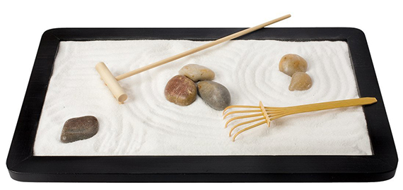The Backyard Naturalist stocks Zen Garden kits, for mindful gardening on your desktop.