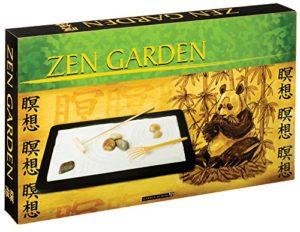 The Backyard Naturalist Zen Garden Kit for Desktop or Coffee table