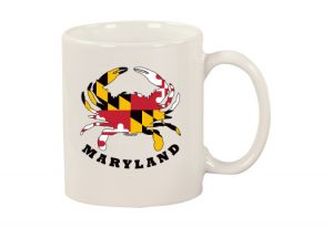 The Backyard Naturalist Maryland Crab Mug