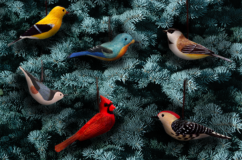 Handmade Wild Bird Ornaments
