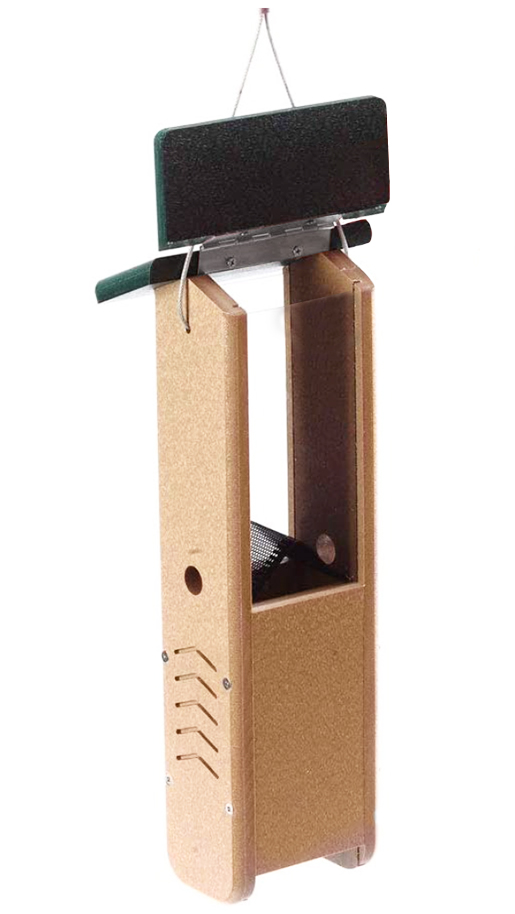 The Backyard Naturalist stocks feeders that are designed for all: birds and the humans who maintain them!