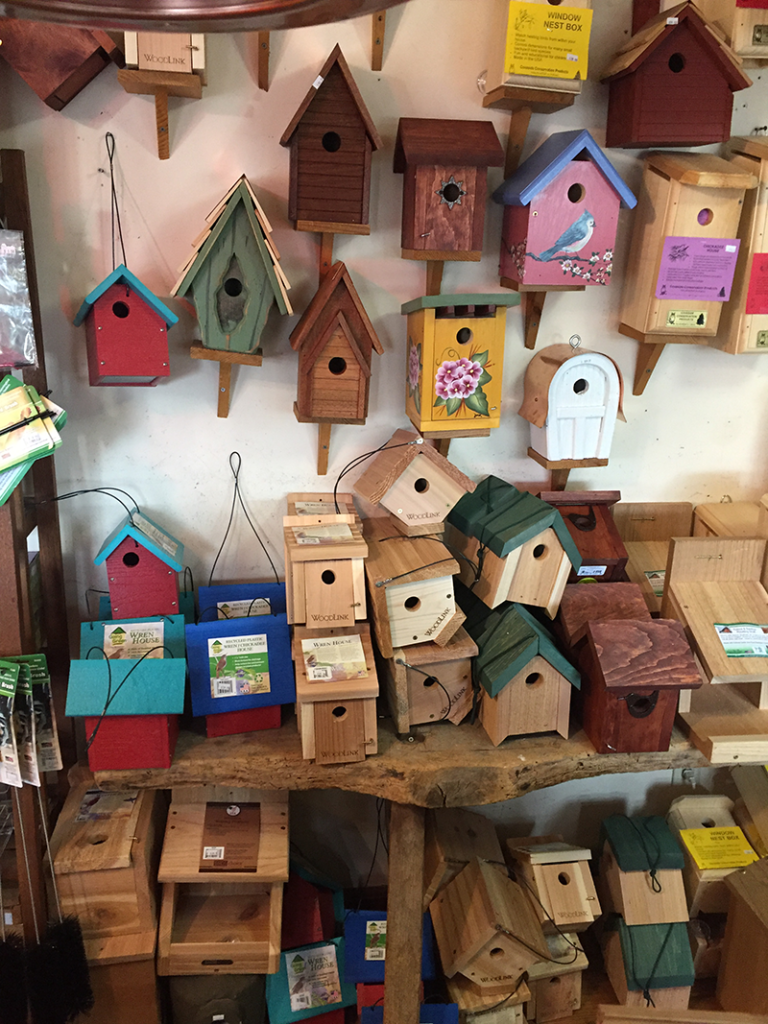 Wren and Chickadee houses